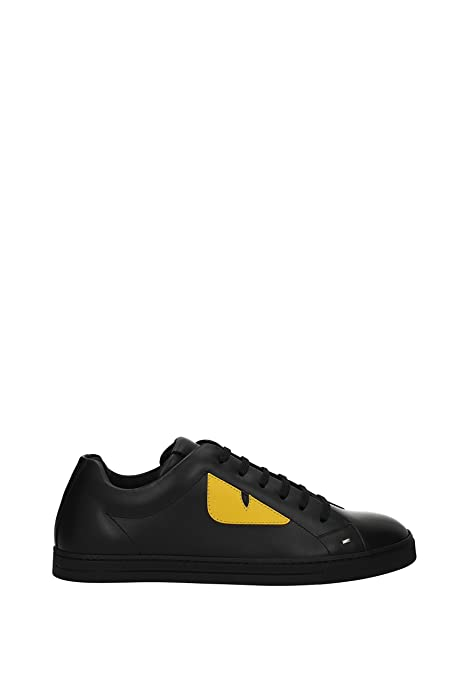 564d92c671 Fendi Sneakers Men - Leather (7E1071TTY) UK: Amazon.co.uk: Shoes & Bags