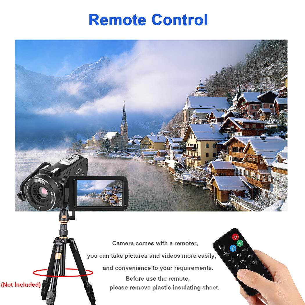 CofunKool Camcorder Video Camera Recorder 16X Digital Zoom IR Night Vision with Monocular Remote Control