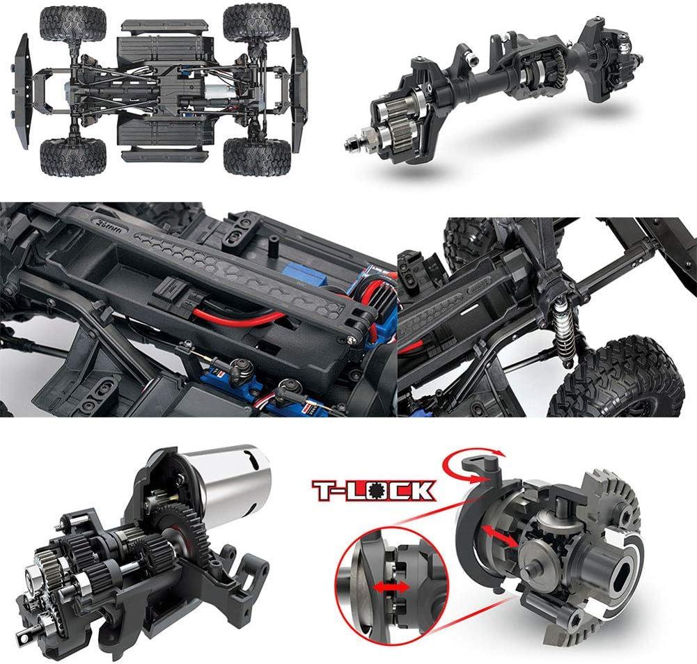 YYD RC Todoterreno TRX-4 Land Rover Defender 1/10 Control ...