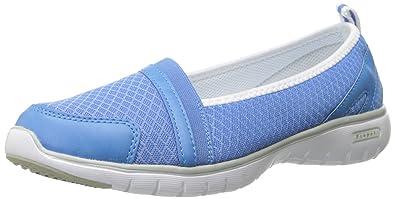 Propet Women's Travellite SN Walking Shoe, Periwinkle, ...