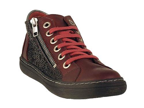 Chacal - Zapatillas de Deporte de Piel Lisa Mujer: Amazon.es: Zapatos y complementos