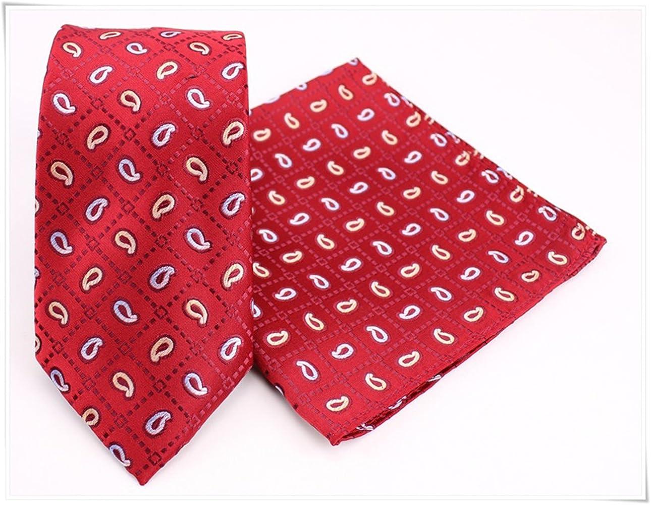 MALUFA Conjunto Corbata y Pañuelo rojo gotas: Amazon.es: Ropa y ...
