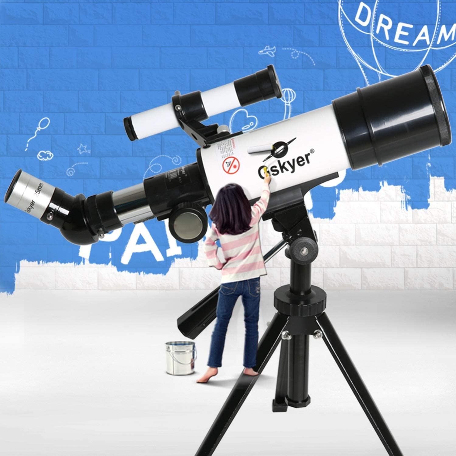 60mm AZ Refractor Telescope Gskyer Telescope German Technology Travel Scope