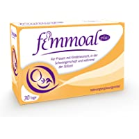 FEMMOAL PLUS Prenatal Vitamin - Multivitamin for Woman Fertility to Lactation - Made in GERMANY - DHA, Omega-3, Iodin, Vitamin b12 & d - 60 Capsules