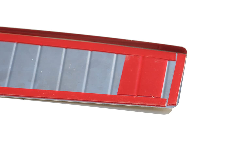 Protezione paraurti in acciaio inox V2/A cromato con smussatura
