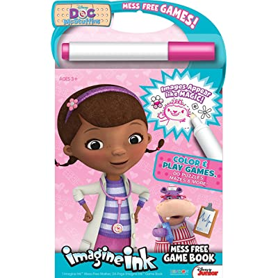 Bendon Publishing Doc McStuffins Imagine Ink Mess Free Game Book: Toys & Games