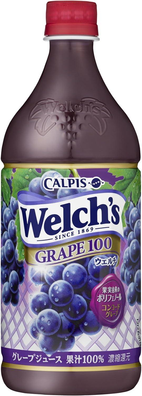 Welch's グレープ100 800g×8本