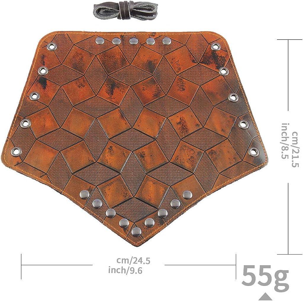 SM SunniMix 1 Pair Archery Arm Bracer Handmade PU Leather Arrow Bow Shooting Protector