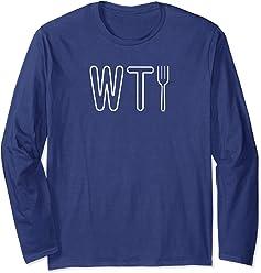 773de1cc708 The Good Place WTFork Funny Long Sleeve T-Shirt