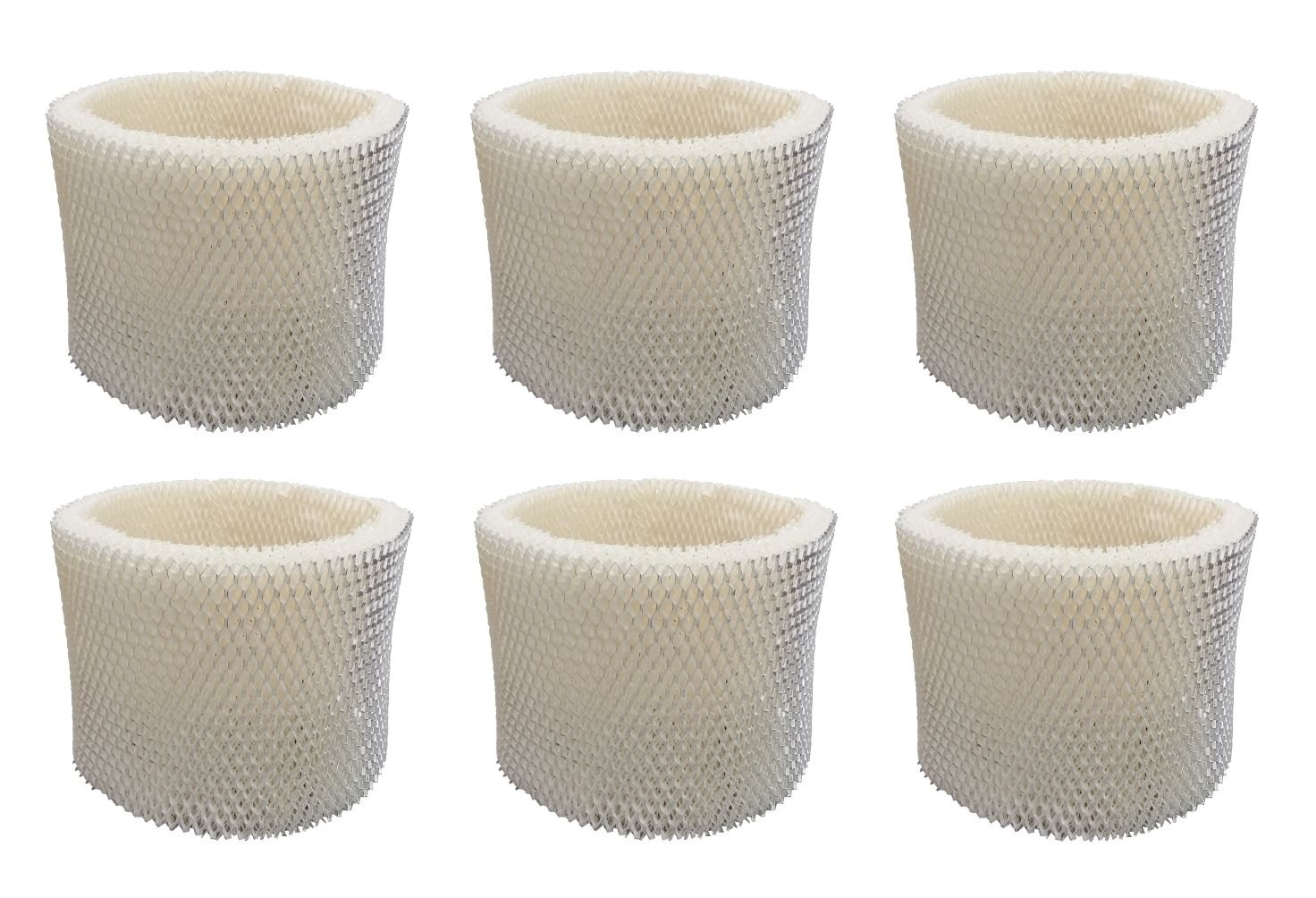 Ximoon 6-pack Humidifier Filter for Holmes HWF-75 HWF72