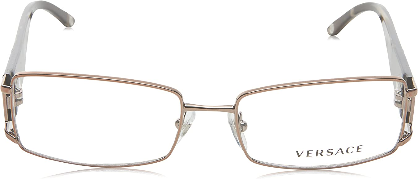 d46285aade5e Amazon.com: Versace VE1163B 1013 Eyeglasses Brown Demo Lens 52-16 ...