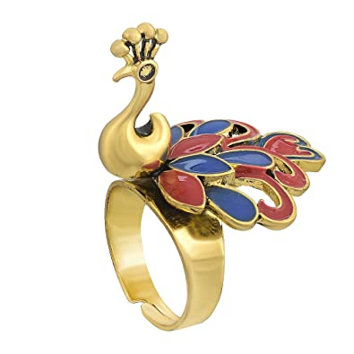 a5212026a1a53 Buy Memoir Gold Plated, Designer Created, Pachikari Work, Blue and ...