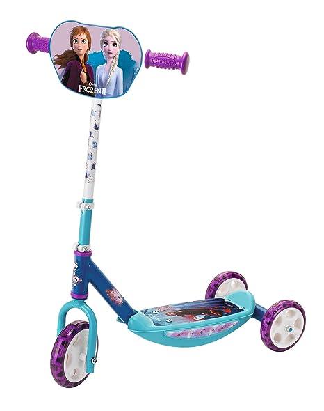 Smoby-Patinete 3 Ruedas Frozen 2 750181, Color Azul: Amazon ...