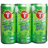 Carabao Energy Drink, Green Apple 6 x330ml