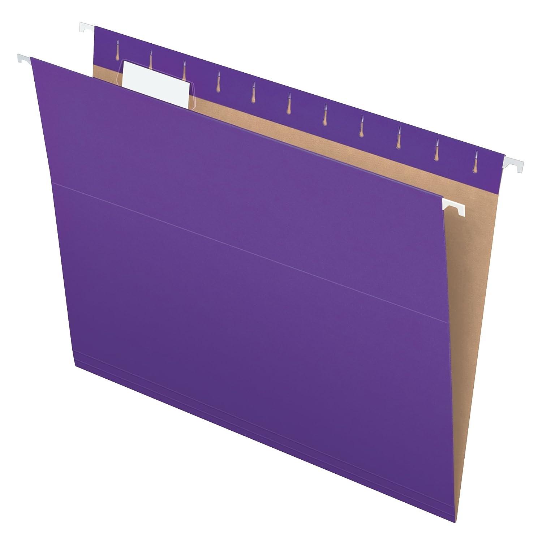 B0006HXDK6 Pendaflex Recycled Hanging Folders, Letter Size, Violet, 1/5 Cut, 25/BX (81611) 71Vm3KJ3oUL