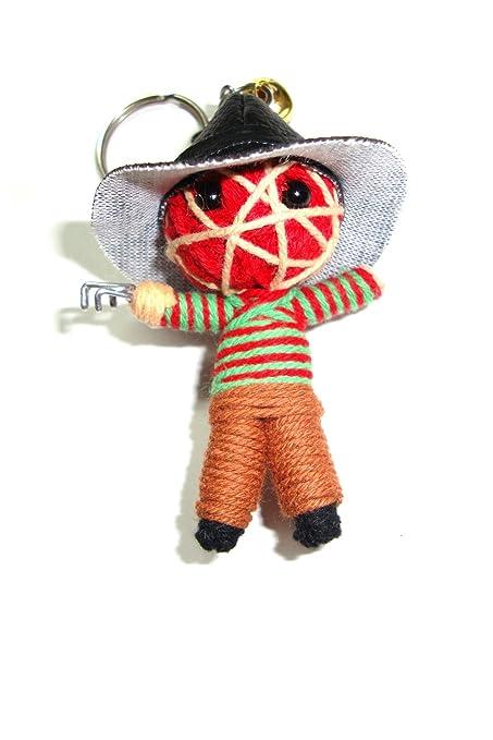 Amazon.com: Freddy Krueger Voodoo Cadena Llavero con muñeca ...