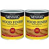 Minwax 70005444 Wood Finish Penetrating Stain, Quart, Maple 2 Pack