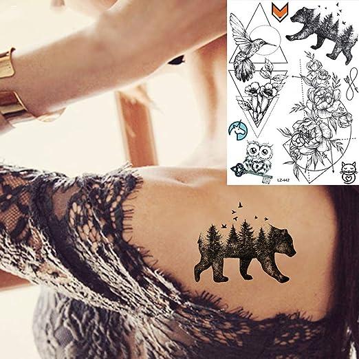 adgkitb 3 Piezas Mandala Flora Dream Catcher Tatuajes temporales ...