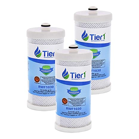 Tier1 Replacement for Frigidaire WF1CB PureSource, WFCB, RG100, WF284,  NGR2000, Kenmore 469906, 469910 Refrigerator Water Filter 3 Pack