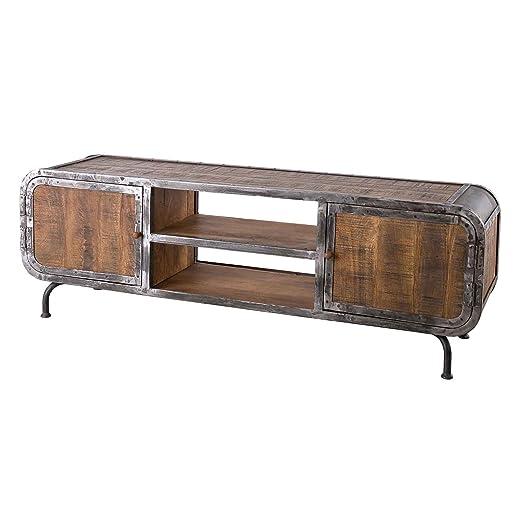 Muebles Ideal LOWBOARD Saigon de Madera de Mango y TV Tarjeta en ...