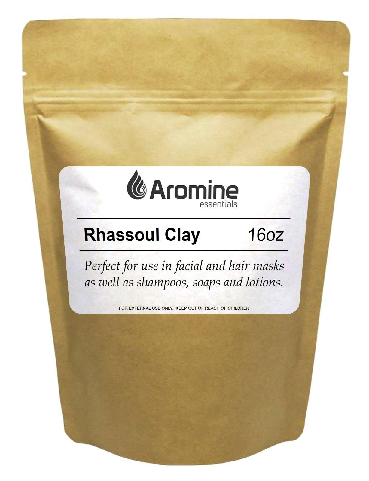Rhassoul Clay Powder 16oz Moroccan Ghassoul Clay