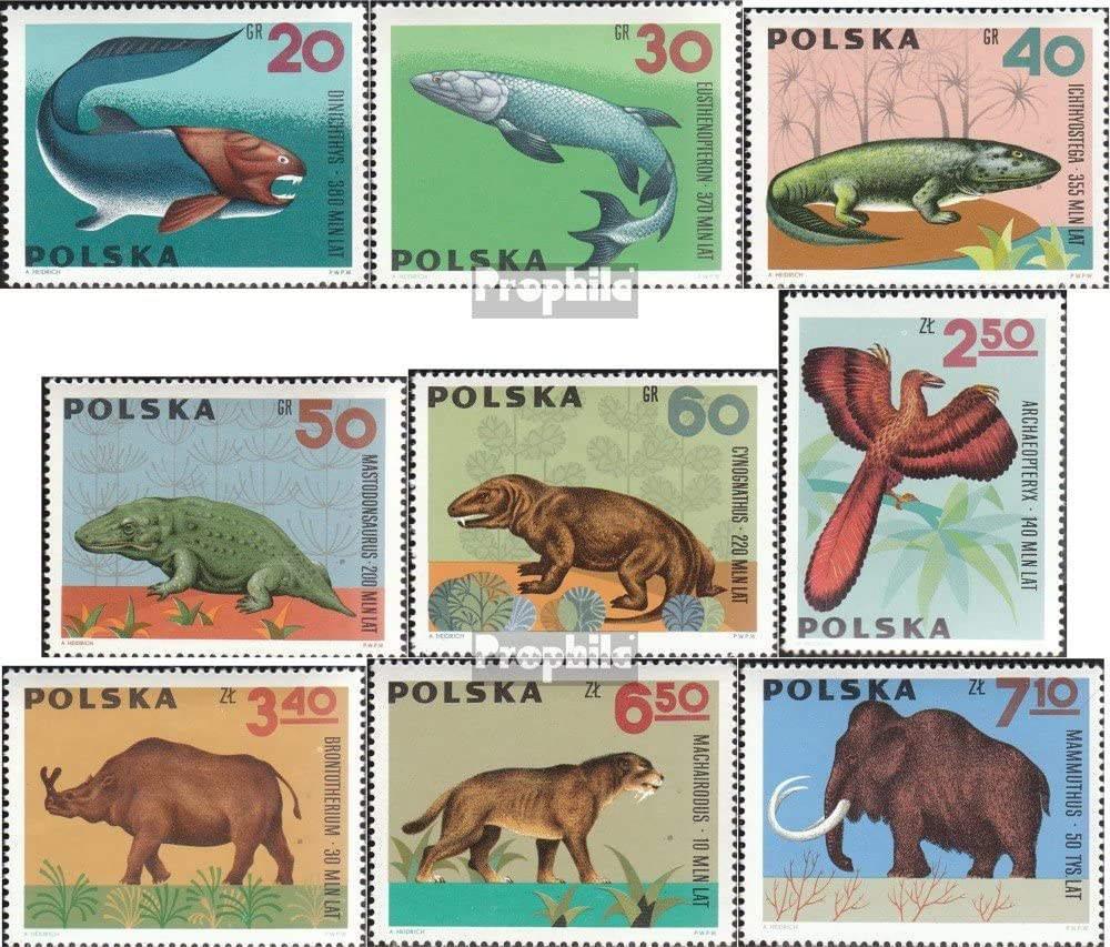 Dinosaurs and Other Prehistoric Animals on Stamps A Worldwide Catalogue Pa...