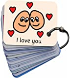 Picture Exchange Communication Keyring (AAC / ASD) Feelings and Emotions Visual Aid Resource
