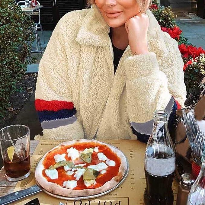 Darringls Navidad Chaqueta Mujer cálido,Abrigos cálido Cardigan Mujer Invierno Chaqueta Más Terciopelo Parka Elegantes Moda: Amazon.es: Ropa y accesorios