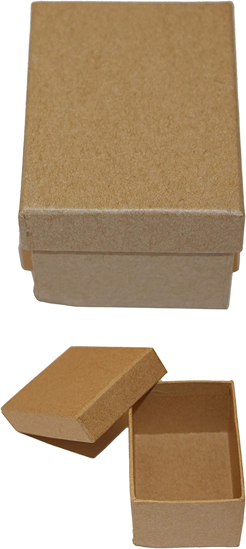 Casa Ydeal Store Cajas de Cartón Muy Resistente (Pack de 6) (Rectangular, 7,5cm x 5,5cm x 4,5cm): Amazon.es: Hogar