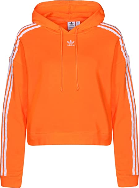 Adidas Cropped W Sudadera con Capucha Collegiate Green: Amazon.es: Ropa y accesorios