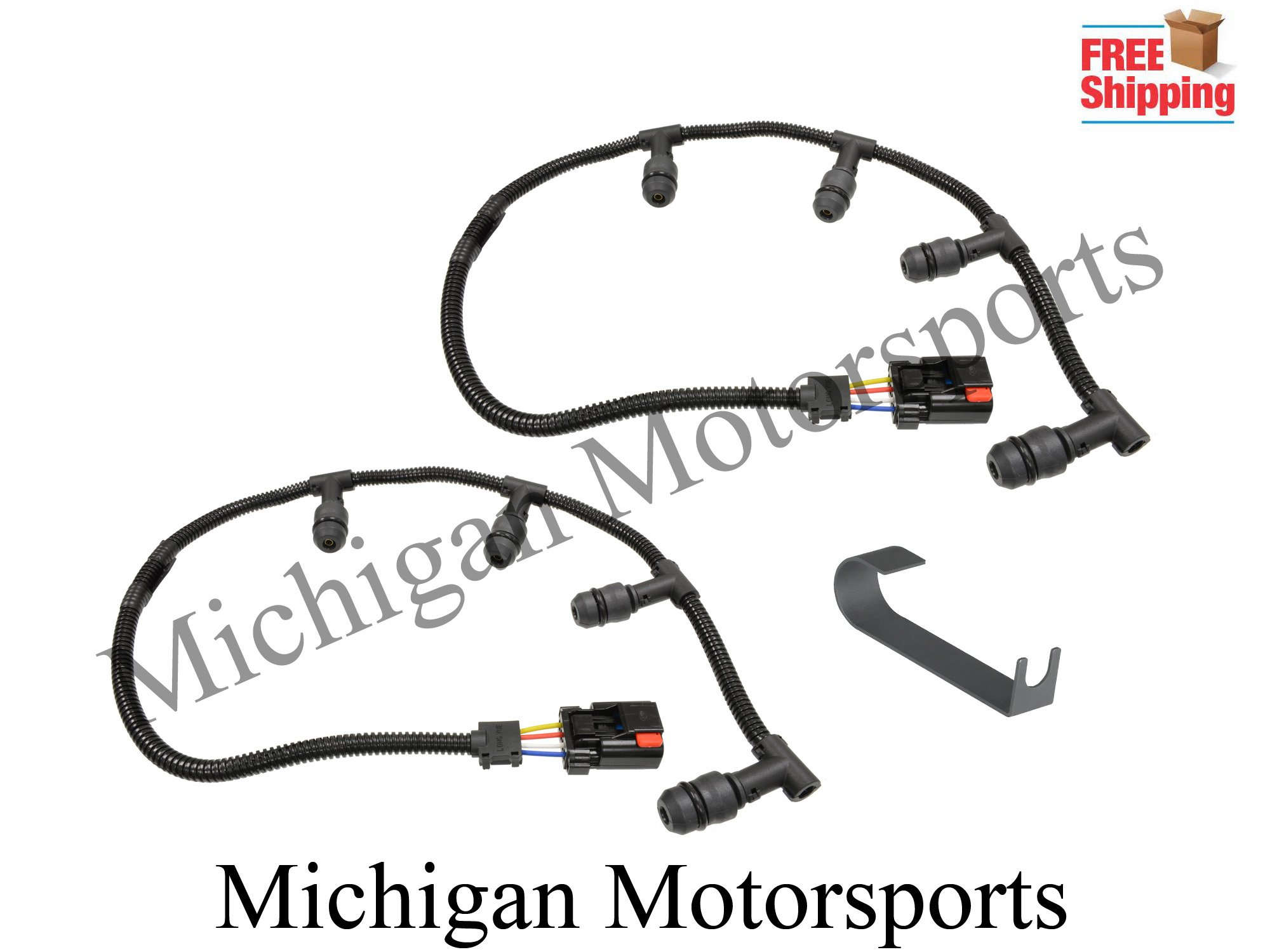 Michigan Motorsports Glow Plug Harness plus installation tool -Fits Ford 6.0L Powerstroke Diesel Truck 6.0 F250 F350 2004-10