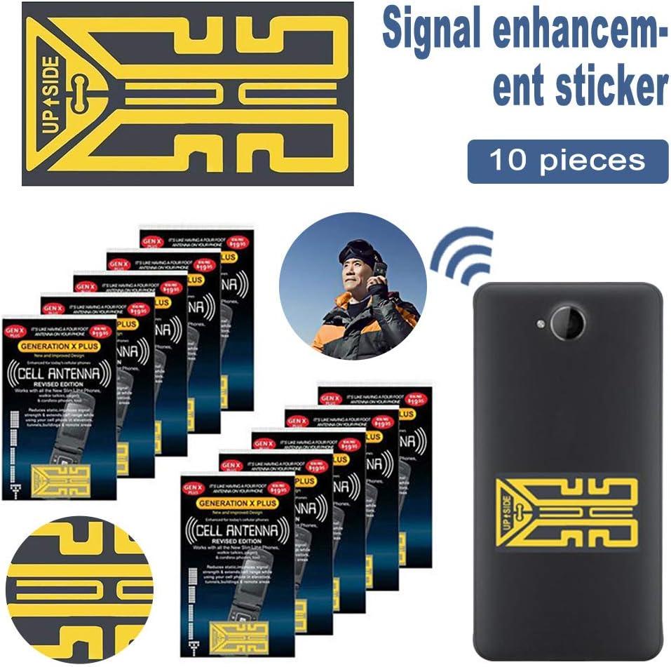 Fauge 10 Pi/èCes S/éRies Gen X Antenne Camping en Plein Air T/éL/éPhone Portable T/éL/éPhone Signal Booster Booster Am/éLiorer Signal Antenne Booster Autocollants
