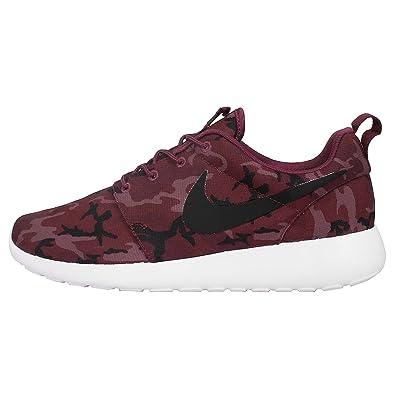 save off 1a2c0 49788 Nike Herren Roshe One Print Sneaker, schwarz, Media: Amazon.de ...