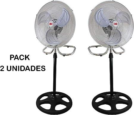 Hanking Planet Pack Ventilador DE PIE 3 EN 1, 18 Pulgadas (45 cm ...