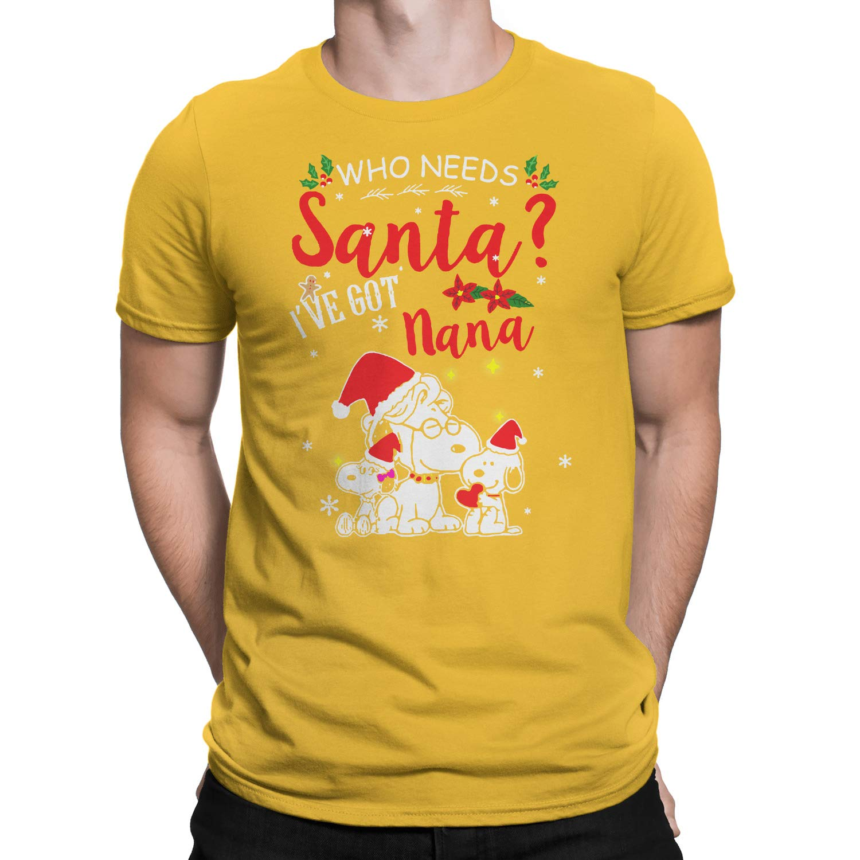 Who Needs Santa Ive Got Nana Snoopy T-Shirt