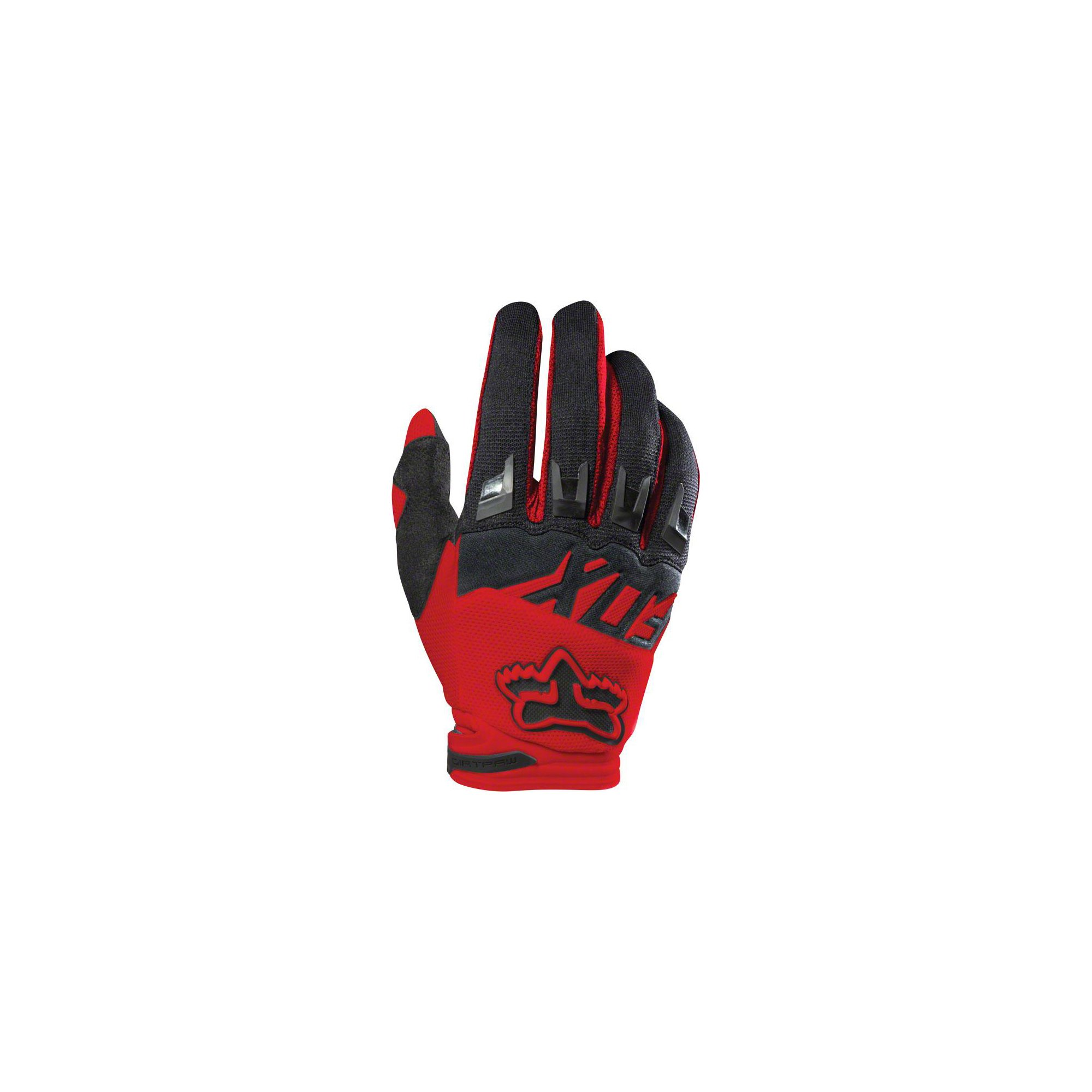 Fox Racing 2017 Dirtpaw Race Adult MotoX Motorcycle Gloves - Red / Small