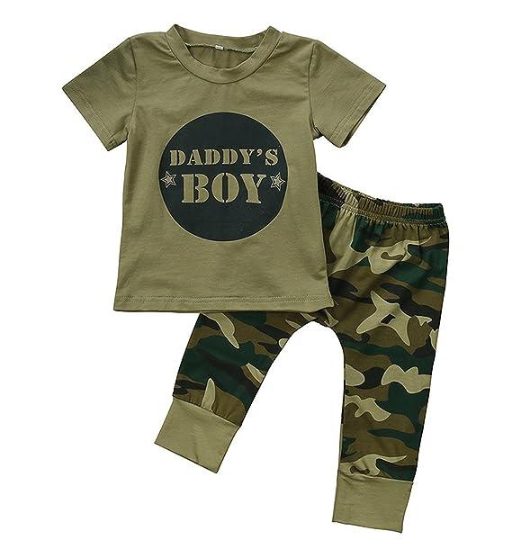 Amazon.com: Juego de 2 piezas de ropa para bebés y niños con ...