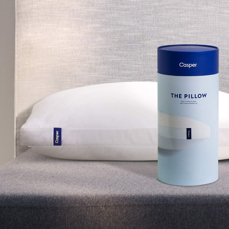 Casper Pillow for Sleeping, Standard, White by Casper Sleep (Image #1)