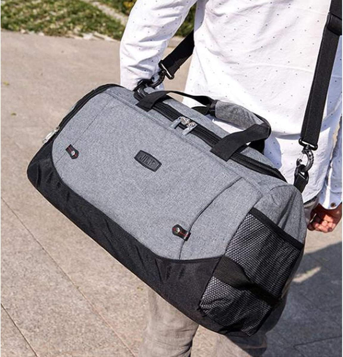 Color : Rose red Purple Size: 512327 Alta qualit/à Large-Capacity Portable Sports Bag Short-Distance Travel Bag Jielongtongxun Fitness Bag