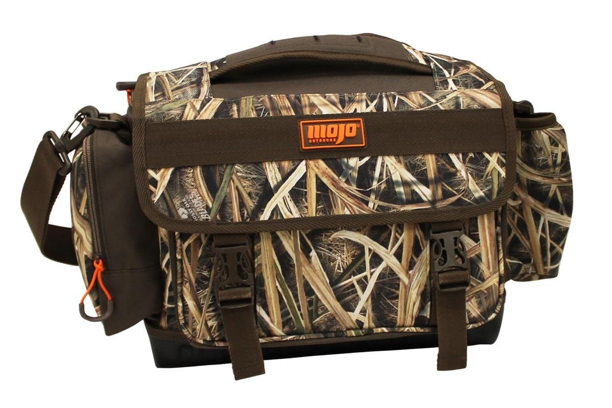 MOJO Outdoors Timber Blind Bag Duck Hunting, Mossy Oak Blades Camo