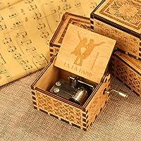 Wooden Music Box La La Land Instrument India Gift by Powlance