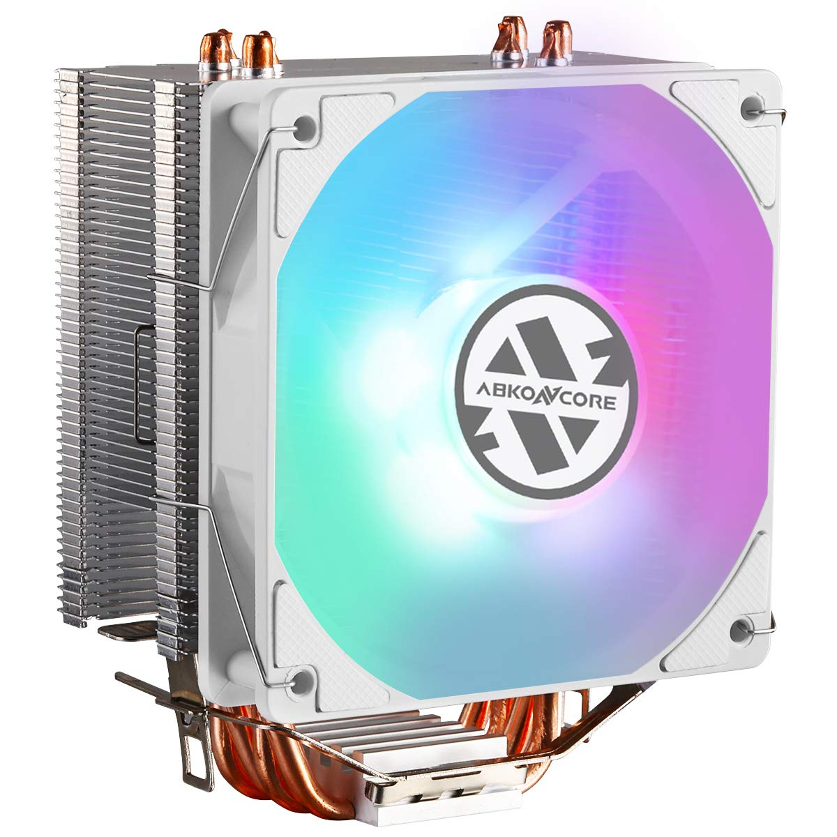 CPU Cooler ABKONCORE CT407W AIR With 92mm PWM Silent Fan 4 C