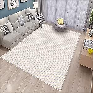 Amazon Com Pastel Indoor Floor Mat Abstract Thin Line