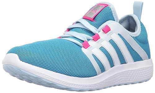 adidas Performance Women's Fresh Bounce W Running Shoe, Craft Blue F16/White /Ice