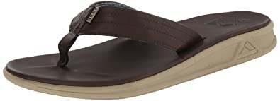 Reef Men's Rover SL Sandal, Dark Brown, ...