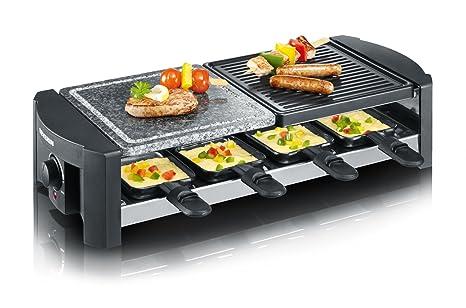 Severin Elektrogrill Ersatzteile : Amazon severin rg raclette grill mit naturgrillstein