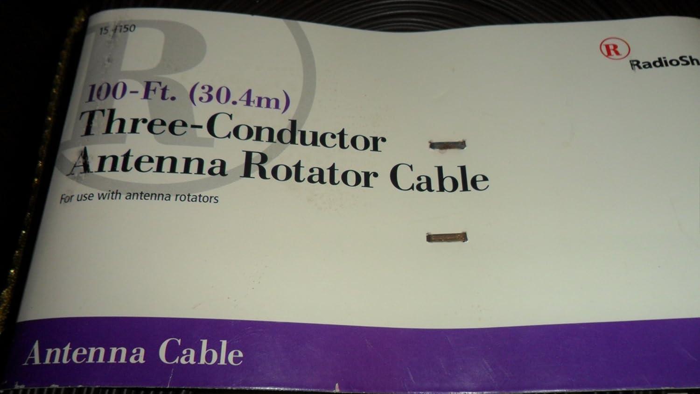 amazoncom radioshack 100 ft 304 three conductor antenna