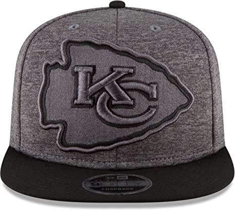 2e7035d2af7 Image Unavailable. Image not available for. Color  New Era Kansas City  Chiefs 9FIFTY Heather Huge Snapback ...