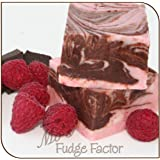 Mo's Fudge, Dark Chocolate Raspberry Fudge 1/2 Pound
