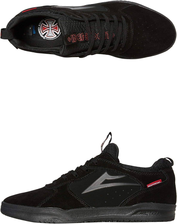 freddo Hassy esotico  Lakai SCARPE SKATEBOARD PROTO X INDEPENDENT BLACK SUEDE 42 1/2:  Amazon.co.uk: Shoes & Bags